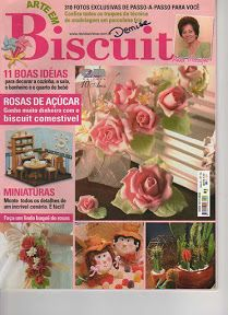 magazine, revista Cold Porcelain Flowers, Magazine Crafts, Cross Stitch Books, Country Paintings, Book And Magazine, My Scrapbook, Miniature Dolls, Vintage Prints, Sewing Crafts