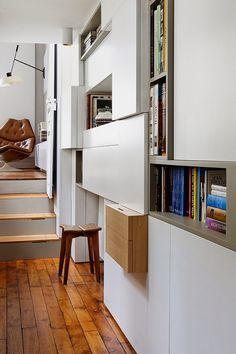 дневник дизайнера: Винтажный интерьер небольшой квартиры: 40 кв.м в Париже
