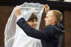 Курск Триумфальная арка невеста жених свадебный фотограф
