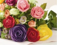 Nino Fashion Notes: Ranunculus - one of my favorite flowers