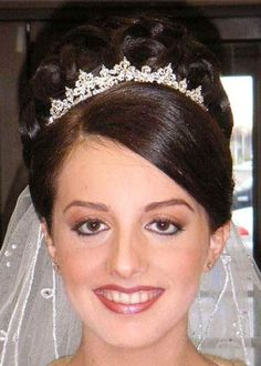 Hairstyles wedding hair with veil and tiara hairstyles with wedding long updo hairstyles with tiara for weddings free download pmusecretfo Images