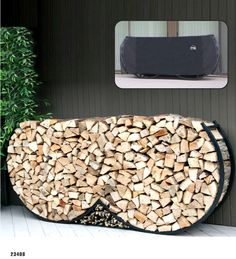 Shop for Firewood Racks in Fire Pit Accessories. Buy products such as Pleasant Hearth Adjustable Log Rack at Walmart and save. Outdoor Firewood Rack, Firewood Logs, Firewood Holder, Firewood Storage, Fire Pit Accessories, Fireplace Accessories, Gabion Stone, Concrete Fire Pits, Fire Pit Designs