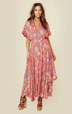 Spell New Lovebird Half Moon Gown