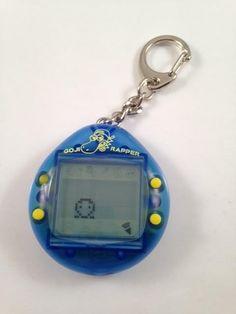 Virtual Pet game 1997 Blue GODJI