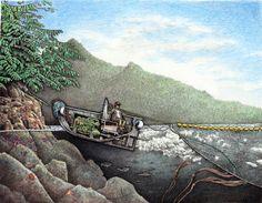 Kodiak Alaska, The Wheelhouse, Deadliest Catch, Lobster Boat, King Salmon, Below Deck, Tug Boats, Amazing Drawings, Drawing Base
