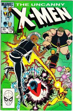Uncanny X-Men Series February 1984 Marvel Comics Grade NM Ms Marvel, Marvel Comics, Marvel Comic Books, X Men, John Romita Jr, Kitty Pryde, Comic Book Collection, The Uncanny, Vintage Comic Books