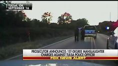 BREAKING NEWS: Prosecutors in Tulsa, Okla., file first-degree manslaughter charges against Betty Shelby, a white police officer, in the death of Terence Crutcher, an unarmed black man on a city street that was captured on dashcam and aerial footage. http://fxn.ws/2dkYftI