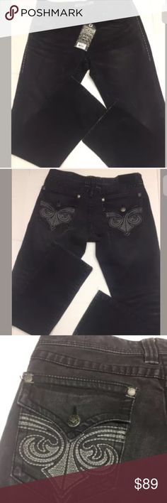 Affliction-Cooper Legacy Berkeley Jeans 33X32  NWT Affliction Men`s Cooper Legacy Berkeley-r Straight Jeans 33X32 $135 NWT Black Affliction Jeans Straight