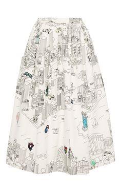Ny Colourbook Skirt by #MIRAMIKATI for Preorder on Moda Operandi