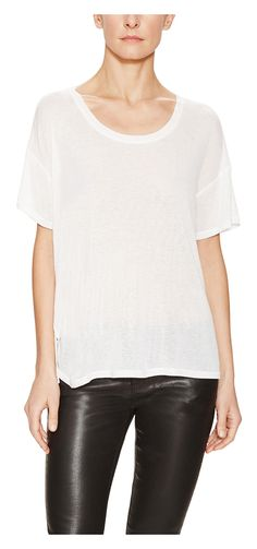 Cashmere Jersey Classic T-Shirt - was $110.0, now $59.0 (46% Off). Picked by amyb @ Gilt