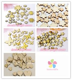 48pcs/lot Mixed Sizes Butterfly Flower Heart styles Wood chips die cut Scrapbooking  Accessories 016006005 #>=#>=#>=#>=#> Click on the pin to check out discount price, color, size, shipping, etc. Save and like it!