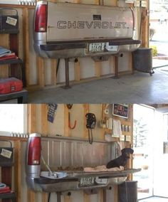 Awesome idea for a man cave!
