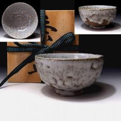 LE8-Vintage-Japanese-Pottery-Tea-Bowl-Old-Karatsu-ware-WABI-SABI 70-80 years ago. Japanese Pottery, Tea Bowls, Wabi Sabi, Vintage Japanese, Serving Bowls, Clay, Tableware, Japanese Ceramics, Clays