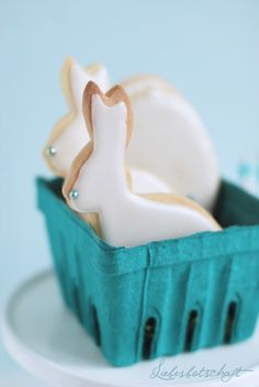 Bunny Cookies for spring