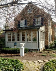 50 amazing ideas for old stone house 35 - - amazing ideas. 50 amazing ideas for old stone house 35 - - amazing ideas for old stone house 35 – – amazing ide… 50 amazing ideas for old stone house 35 – – amazing ideas for old stone house 35 – Old Stone Houses, Sunroom Addition, Enclosed Porches, Side Porch, Architecture Details, Curb Appeal, Exterior Design, Future House, Beautiful Homes