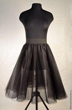 Черная юбка-пачка из фатина - пачка,пышная юбка,юбка из фатина,нарядная юбка