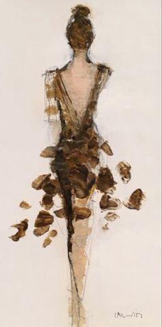 Figure Painting, Painting & Drawing, Fine Art Drawing, Knife Painting, Figurative Art, Painting Inspiration, Female Art, Watercolor Paintings, Fine Art Paintings