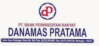 Lowongan Account Officer & Marketing Funding di BPR Danamas Pratama- Klaten