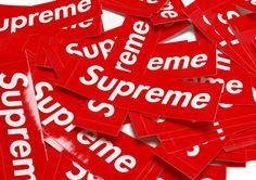 SupremeステッカーセットBox Logo Stickers