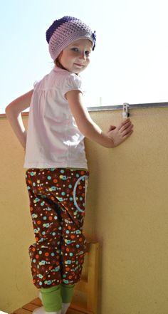 Kalhoty se sovičkama
