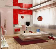 Designing Ideas modern bedroom design with black white wallpaper Find This Pin And More On House Ideas