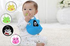 Cheeky Animal Baby Bib - 5 Designs!