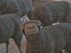 Moth-eaten and Antiquated - Who's who among the superannuated? #knithacker #art #sheep