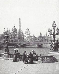 Alexandre-III bridge Paris 1900