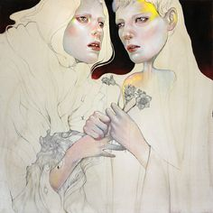 Martine Johanna Fashion illustrations #drawing #illustration #women