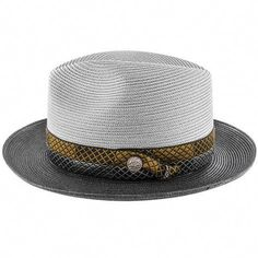 6ef58c6250e66 Lowest Price on Andover - Stetson Milan Straw Fedora Hat - TSANDV.   mensfashion