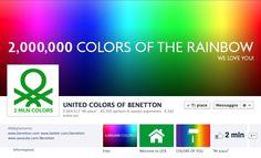 2 milioni di fan per la pagina Facebook di @benetton