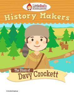 Davy Crockett - History Makers - Lesson Packet $
