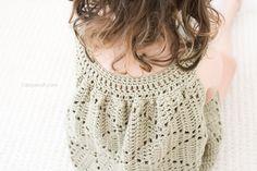 Tunic dress neckline
