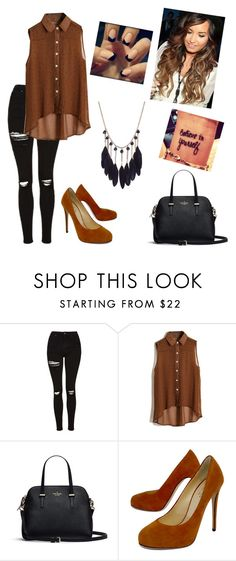 """""""Untitled #123"""" by mildabas ❤ liked on Polyvore featuring Topshop and Barneys New York"""