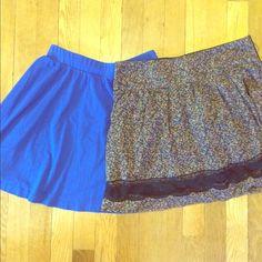 Skater skirt bundle Skater skirt bundle, both size M Skirts Circle & Skater