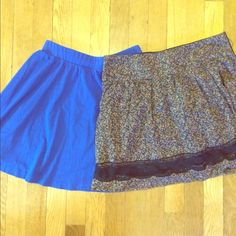 Skater skirt bundle Skater skirt bundle, both size M Skirts Circle & Skater