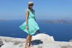 Anna Mavridis spotted in our Lucha Loco dress www.vamastyle.com