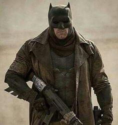 Batman Ben Affleck dream sequence Batman V Superman Dawn Of Justice