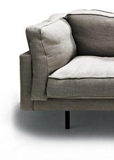 De Padova - Sofa Square 16 Lounge Sofa, Lounge Furniture, Sofa Chair, Armchair, Furniture Design, Divani Design, Lounge Suites, Gray Sofa, Rug Shapes