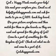 Help Gods Happy Meals