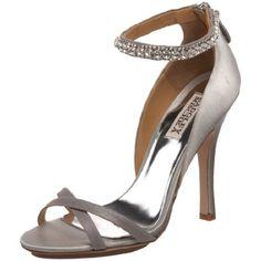 Badgley Mischka Women's Decadence Crystal Sandal,