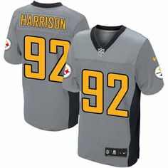 Steelers James Harrison Black Authentic Jersey For Women's & Youth ...