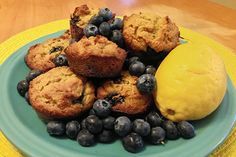 Lemon, blueberry and lavender are a unique combination that infuse these muffins with a complex and delicious flavor.