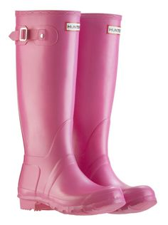 7131b5a3fd56 Pink tall hunter boots Festival Wellies