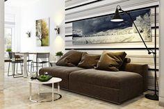 Lakberendezés kis lakásban maximális helykihasználással - kényelmesen és elegánsan