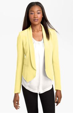 Truth & Pride 'Angel Hem' Blazer available at #Nordstrom