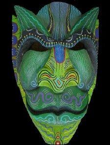 Boruca Mask - Costa Rica