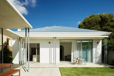 Outside view of Federation Era bungalow renovation. Palmerston St project by Architecture by Vittino Ashe   NONAGON.style