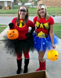 Cheap and Easy Homemade Incredibles Costume // #Halloween
