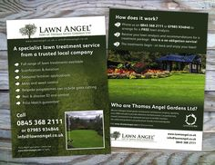 Flyer for Thomas Angel Gardens Ltd